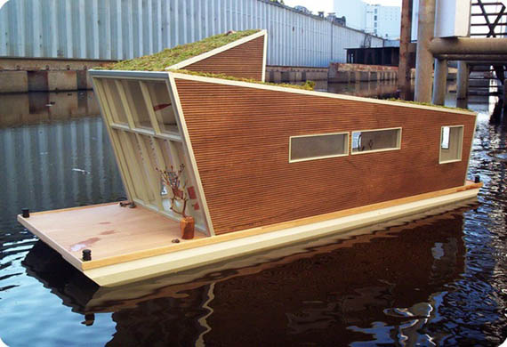 tiny boat house