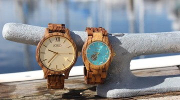JORD wood watch: sailor fashion + exclusive GIVEAWAY