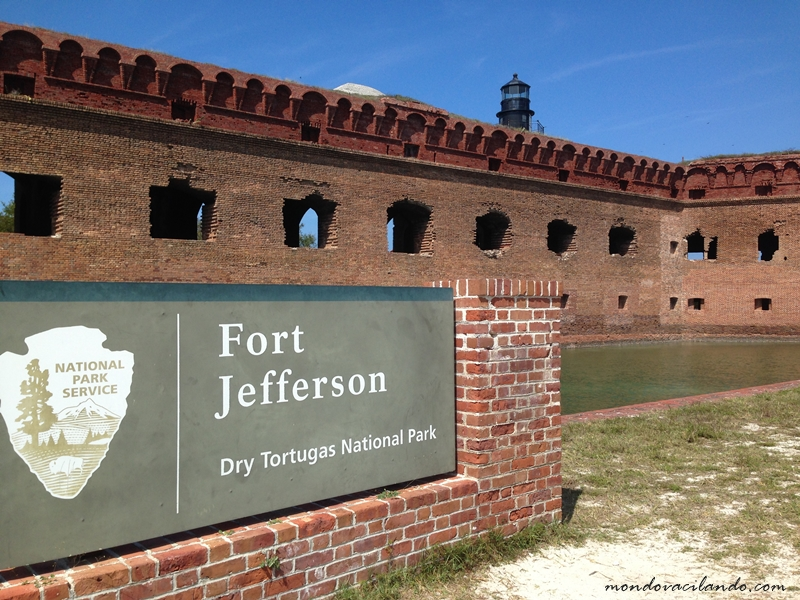 Fort Jefferson National Park in the Dry Tortugas