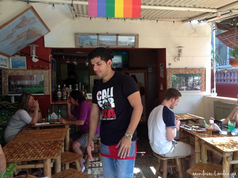 California Cafe waiter