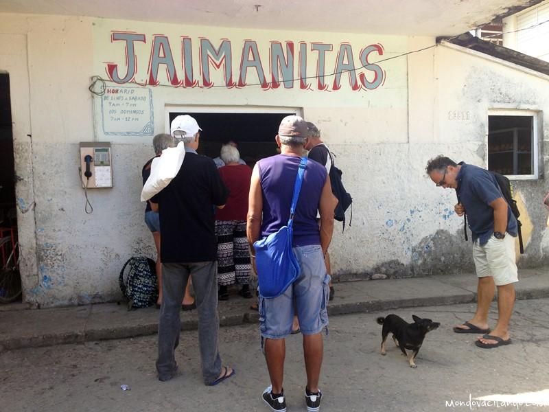 The local panaderia (bakery) in Jaimanitas, Cuba
