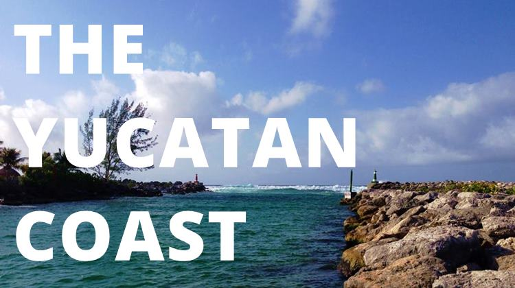 Sailing the Yucatan coast was our most challenging sailing thus far.