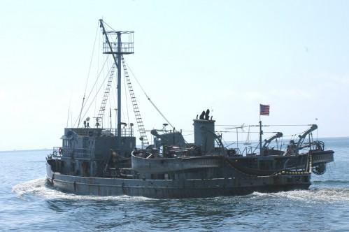 Menhaden Fishing Boat - Reedville Fish Plant