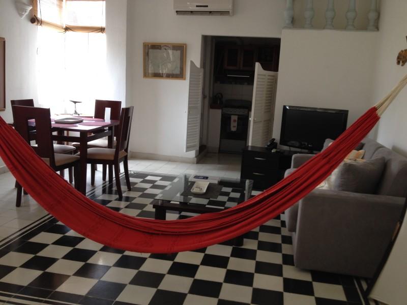 airbnb cartegena hammock