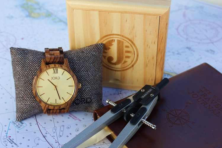 Jord Wood Watch comes beautifully packaged and suitable for gift giving.