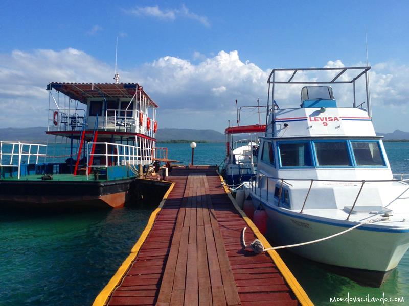 Cayo Levisa docks